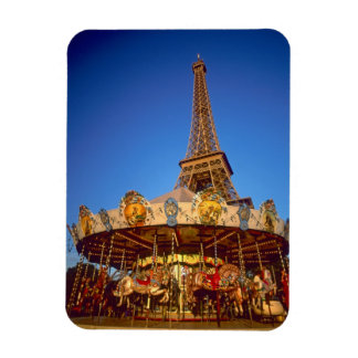 Carrousel, Eiffel Tower, Paris, France Magnet