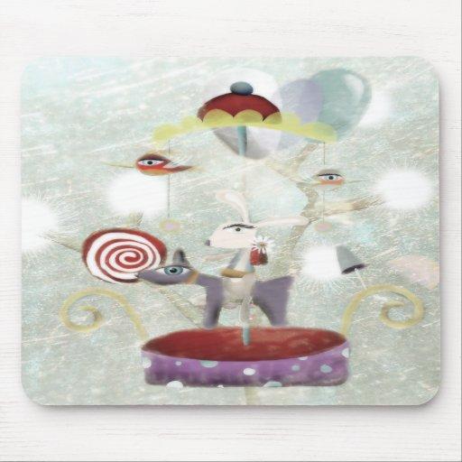Carrousel sweet fun Mousepad