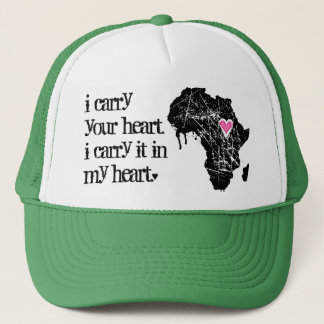 Carry Africa's Heart Trucker Hat