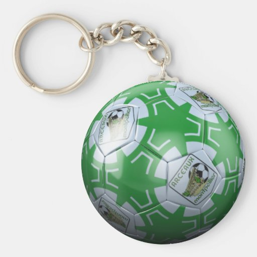 Carry Clef Arches Montpellier Football Key Chains