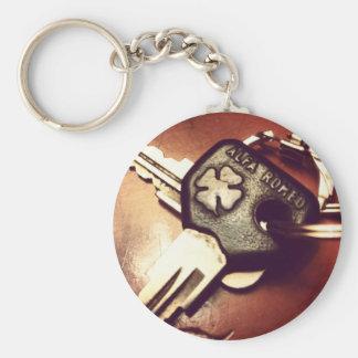 Carry key Alfa Romeo Basic Round Button Key Ring