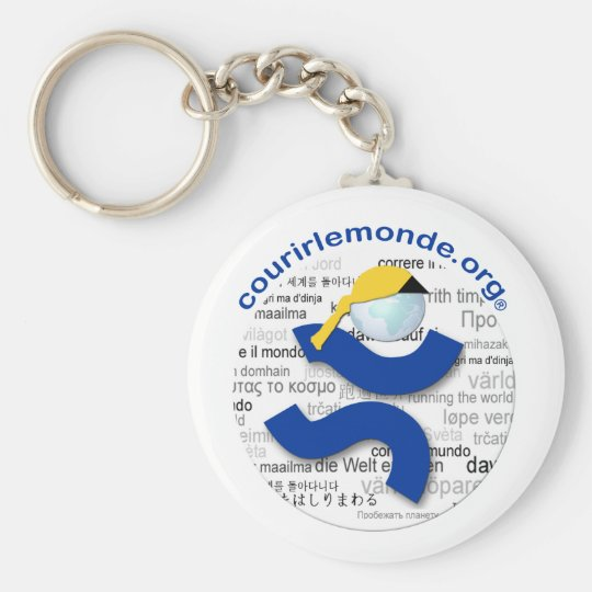 Carry-key CLM Basic Round Button Key Ring