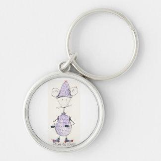 Carry key Grelotte mouse Key Ring