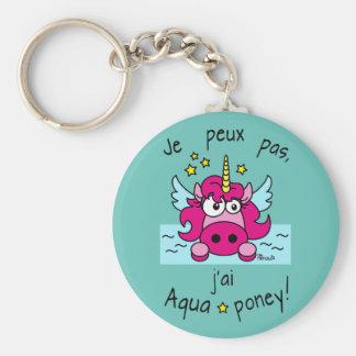 Carry key Licorne, Aquaponey Key Ring
