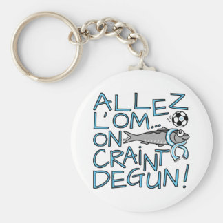 Carry-key Sardine, GO OM, FOOT, Marseilles Basic Round Button Key Ring