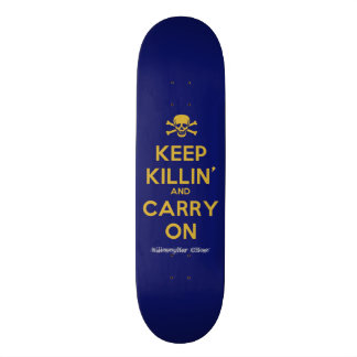 """Carry On"" Ghost Killosopher Apparel Deck 20.6 Cm Skateboard Deck"