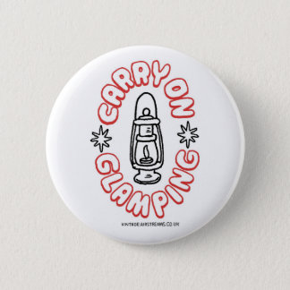carry on glamping button badge