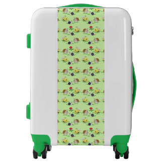 Carry On Luggage Suitcase/Bumble Bee's, Snails