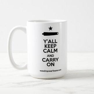 Carry On! Classic White Coffee Mug