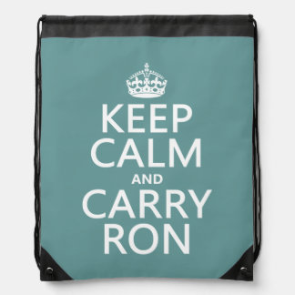 Carry Ron Drawstring Bags