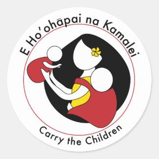 Carry the Children Sticker