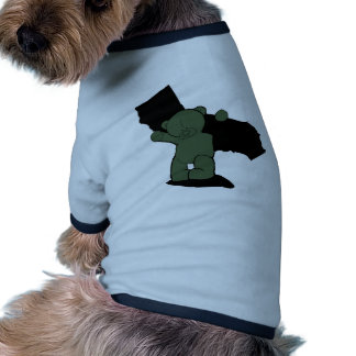 Carry the weight doggie tee shirt