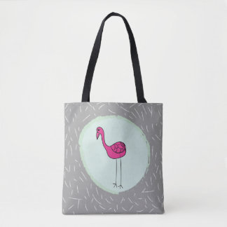 Carrying bag flamingo