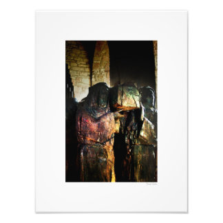 "Carrying the Cross 12""x16"" Art Photo"