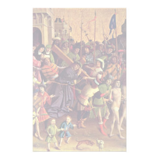 Carrying The Cross By Meister Der Darmstädter Pass Stationery