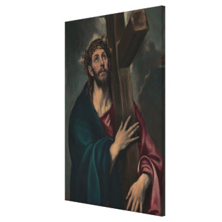 Carrying the Cross Canvas Print