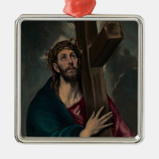 Carrying the Cross Christmas Ornament