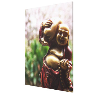 Carrying the Load Buddha Canvas Canvas Prints