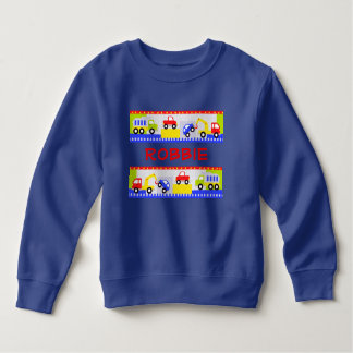 Cars and Trucks Toddler Sweatshirt