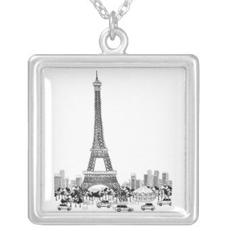 Cars by Tower Silver Plated Necklace