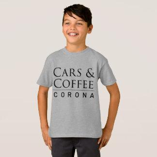 Cars & Coffee Corona Boys T-Shirt
