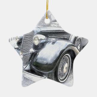 Cars Old Cars Vintage Cars Christmas Ornament