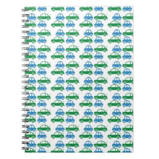 cars pattern notebook