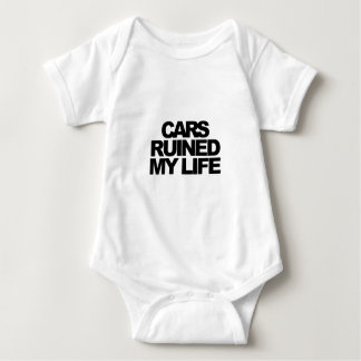Cars Ruined My Life Baby Bodysuit