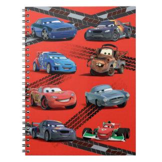 Cars Spiral Note Books