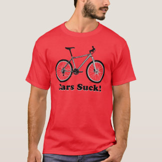 Cars Suck! (MTB) T-Shirt