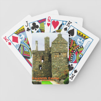 Carsluith Castle -- Clan Broun/Brown Bicycle Playing Cards