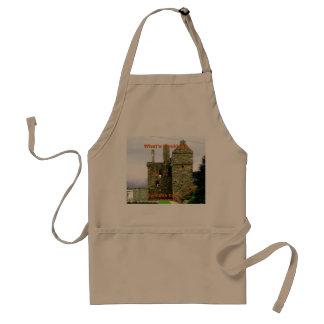 Carsluith Castle -- Clan Broun/Brown Standard Apron