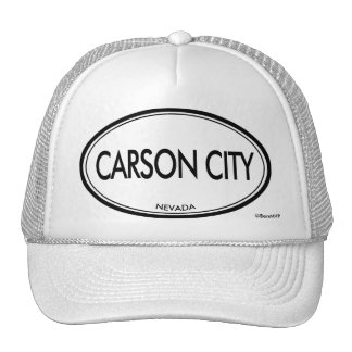 Carson City, Nevada Trucker Hat