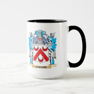 Carson Coat of Arms - Family Crest Mug