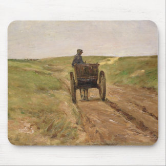 Cart in Katwijk, 1889 Mouse Mat