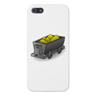 Cart of Gold Cases For iPhone 5