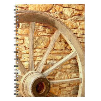 Cart Wheel Photo Notebook