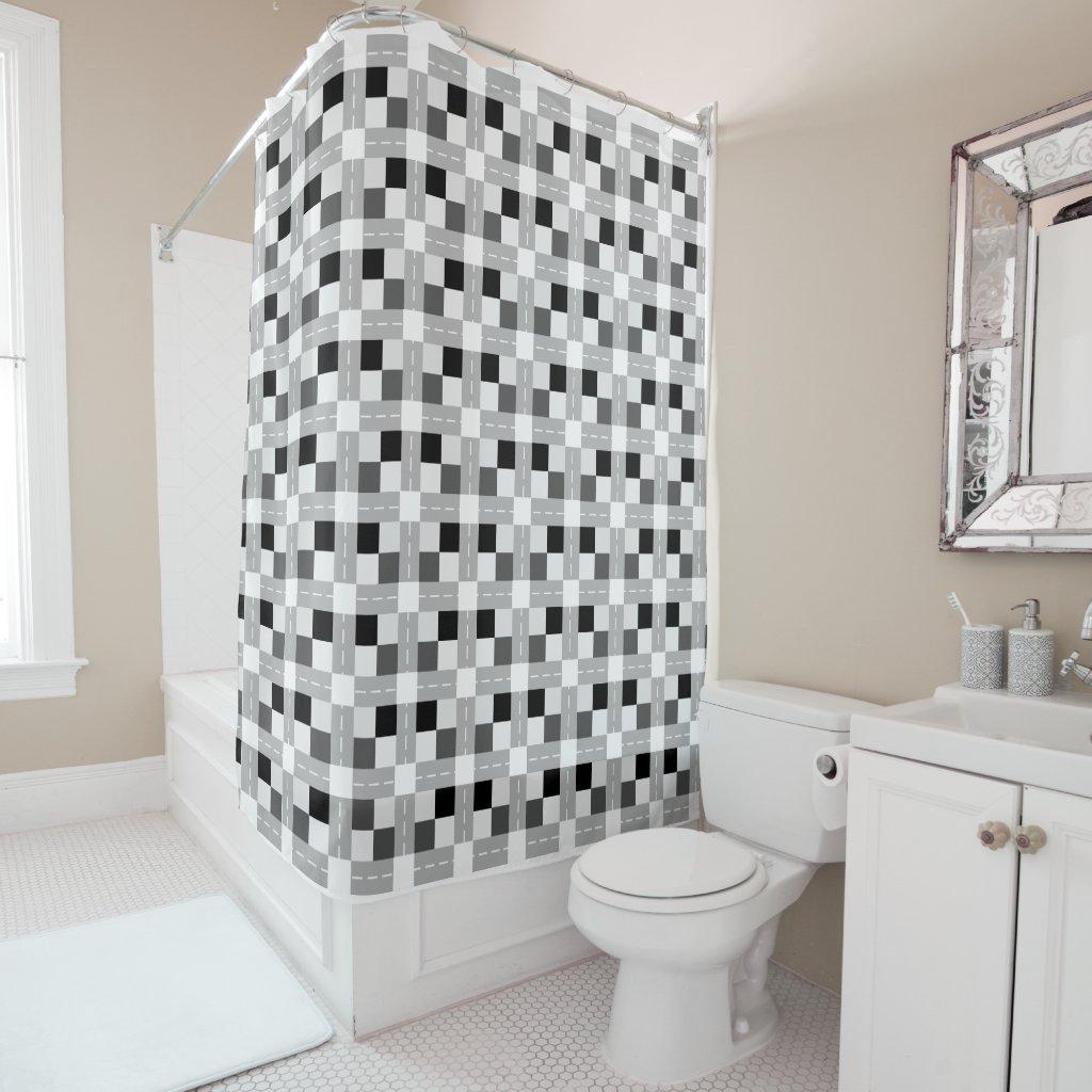 Carta / Shower Curtain