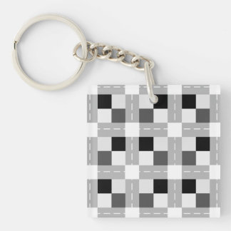 Carta / Square (double-sided) Keychain