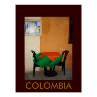 CARTAGENA, COLOMBIA POSTER