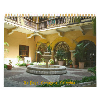 Cartagena, Colombia, South America Calendar