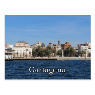 Cartagena souvenir and gift postcard