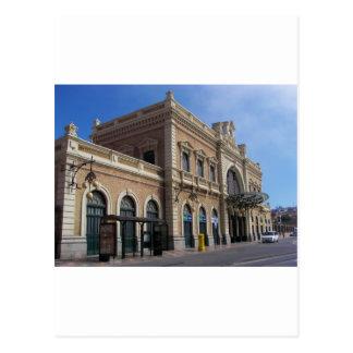 Cartagena Station Postcard