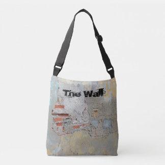 Cartagena - The Wall w Customizable Text Crossbody Bag