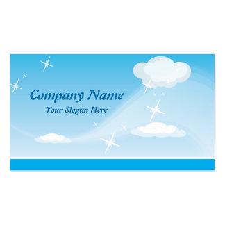 Cartão de Visita Nuvens