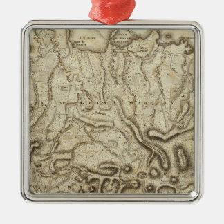Carte de l'Isle de la Grenade Christmas Ornament