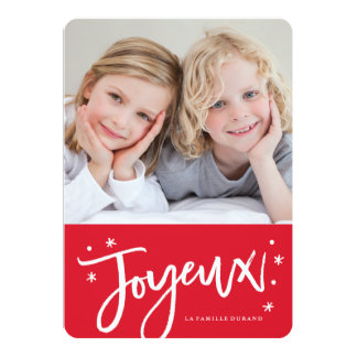 carte de Noël français Card