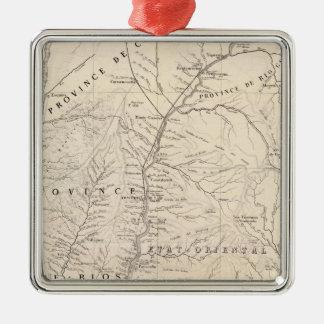 Carte, Entre Rios, Santa Fe, Soundtrack Christmas Ornament