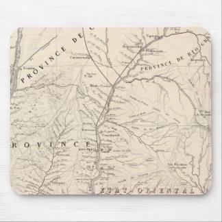 Carte, Entre Rios, Santa Fe, Soundtrack Mouse Mat