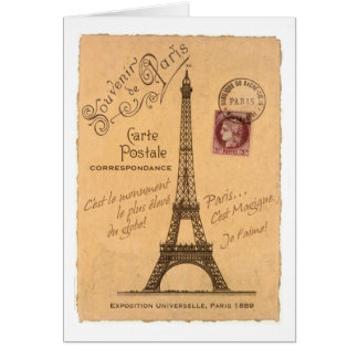 Carte Postale greeting card